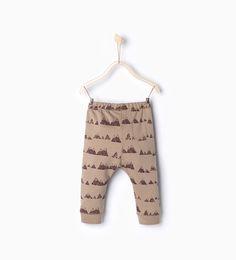 Mountain leggings-Baby boy Collection-Baby boy | 3 months-4 years-KIDS | ZARA United Kingdom