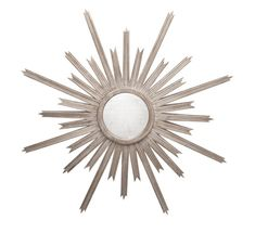 Information: Worlds Away Starlata Starburst Mirror Features: The Worlds Away Starlata starburst mirror lends intriguing glamour to modern interiors. With striki