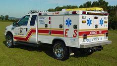 La Crance Fire District EMS 47-89 Ford F-350
