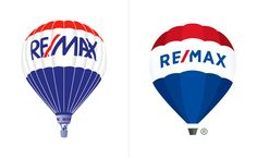 New Logo for RE/MAX by Camp + King #logo #design #graphics #remax #rebrand #hot-airballoon
