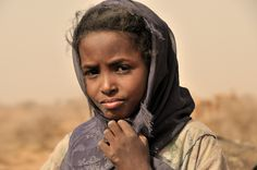 Nomad at well , Naqa , Sudan