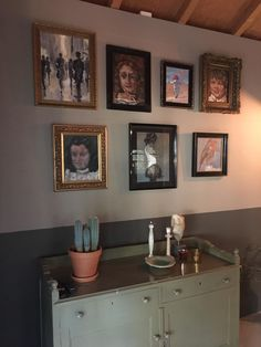 B & B, Buffet, Gallery Wall, Cabinet, Storage, Frame, Furniture, Home Decor, Clothes Stand