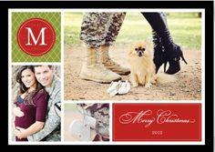 Christmas card/Army pregnancy announcement