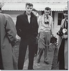 Elvis Presley at Graceland : March 7, 1960 (Press Conference after discharge from the Army)