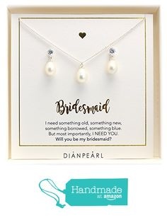single pearl jewelry set,Bridesmaid gift,will you be my bridesmaid,freshwater…
