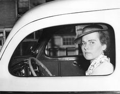[Miss Marion E. Meilicke, reportedly the first woman taxi driver in Vancouver] - City of Vancouver Archives Vancouver City, Vancouver Island, Taxi Driver, Working People, Photo Story, Photos Of Women, Women In History, Historical Photos, British Columbia