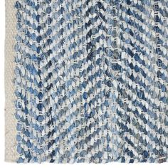 Atelier - Recycled denim and leather rug/RUGS/SHOP BY PRODUCT/ATELIER BOUCLAIR|Bouclair.com