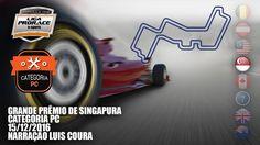 4 º ET. GP DE SINGAPURA - CAT. PC - NARRAÇÃO LUIS COURA - LIGA PRORACE E...