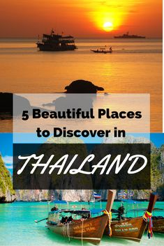 5 Beautiful Places to Discover in Thailand Holiday Packing Lists, Family Holiday Destinations, Vacation Destinations, Lanai Island, Where Is Bora Bora, Family Adventure, Asia Travel, Thailand, Cool Places To Visit