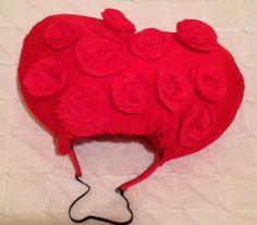 Tutorial pelo disfraz Reina de Corazones Tim Burton. Diy Queen of hearts hair. Awesome!!