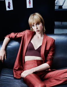 Edie Campbell stars in H&M's new AW15 campaign