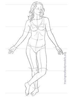 fashion-figure-template-0026 Human Figure Drawing, Figure Sketching, Body Drawing, Fashion Figure Templates, Fashion Design Template, Fashion Illustration Template, Human Body Art, Model Sketch, Real Bodies