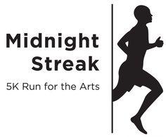 Midnight Streak 5K: OKC, OK  8/23/2014