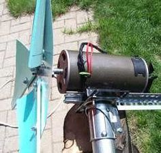 DIY wind turbine I so want to build this right now.