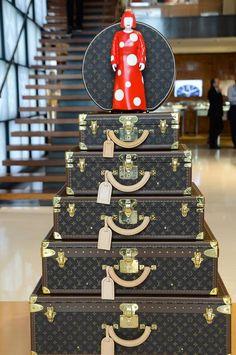 Yayoi Kusama at Louis Vuitton Maison