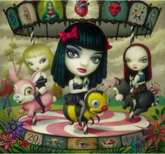 Love the artist (Mark Ryden), and love the group (Jack Off Jill).
