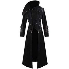 New Handmade Scorpion Mens Hooded Trench Coat Long Jacket Black Gothic Steampunk Stunning Gothic Visual-Kei/Steampunk style long coat in soft Woolen fabric, with unique zip-off feature at the waist to transform into a short jacket! Trench Coat Outfit, Hooded Trench Coat, Trench Coats, Women's Coats, Hooded Jacket, Bomber Jacket, Steampunk Coat, Gothic Steampunk, Steampunk Necklace