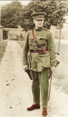 A rare colour photo of michael collins Ireland 1916, Dublin Ireland, Irish Restaurants, William Wallace, Erin Go Bragh, Castles In Ireland, Michael Collins, Irish Landscape, Irish Culture