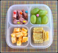 Homemade Lunchable Bento Lunch