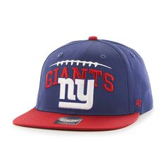 New York Giants Laces Out Captain Royal 47 Brand KID Hat 29ab4843196