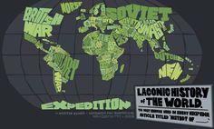 Historia lacónica del Mundo