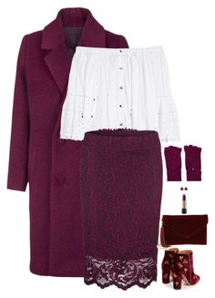 """Untitled #6148"" by miki006 ❤ liked on Polyvore featuring Samsøe & Samsøe, Carolina Herrera, BP., French Connection, Fraas, Lancôme and Aquazzura"