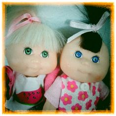 Tahlee and Lilian, who for years wrote mail to my best friend's cabbage patch kid Tilly. They had a series of ever more extravagent shoe box homes and used to often invite Mr Frog over for tea My Best Friend, Best Friends, Invite, Invitations, Cabbage Patch Kids, Mug Shots, Shoe Box, Old Friends, Homes