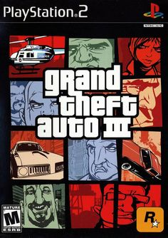 The original was great. But Grand Theft Auto III took wrong to a whole new level.  PS2 #gaming #GTA