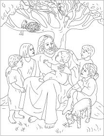 6 free coloring pages jesus loves me bible coloring pages - Children Coloring Pictures