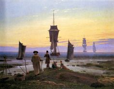 The stages of life - Caspar David Friedrich