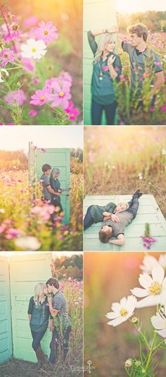 Connection Photography, Wildflowers, North Carolina Wedding Photography, engagement session, The Arbors,