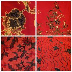 Batik in Red