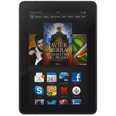 "Kindle Fire HDX 7"" (17 cm), pantalla HDX, wifi, 16 GB - incluye ofertas especiales (generación anterior - 3ª) de Kindle Fire, http://www.amazon.es/dp/B00D2J4D4U/ref=cm_sw_r_pi_dp_9hLvub1XHVRQK"