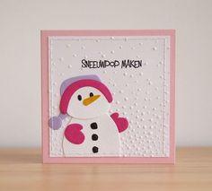 De laatste serie kerstkaarten met de sneeuwpop, het varken en de ijsbeer van Eline Pellinkhof. Ik wens iedereen een goed uitein...