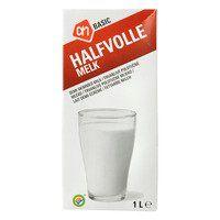 Halfvolle melk houdbaar