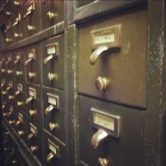 Do you remember card catalogs?  I do every time our server crashes.