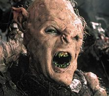 """White Orc Lord of the Rings 