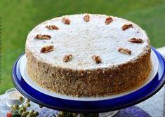 COLIVA Romanian Food, Romanian Recipes, Vanilla Cake, Tiramisu, Pudding, Ethnic Recipes, Desserts, Cookies, Sweets