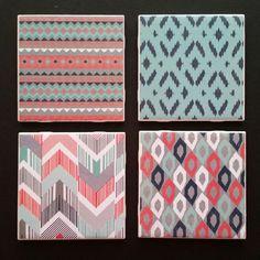 Cheyenne Themed Coaster's Tile Size- 4x4 $12