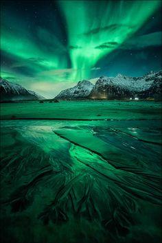 nordlys ] ~ aurora borealis, Flakstad, Lofoten, Northern Norway by D-P… Lofoten, Landscape Photography, Nature Photography, Waterfalls Photography, Photography Pics, Scenic Photography, Landscape Photos, Ciel Nocturne, Northern Lights Norway