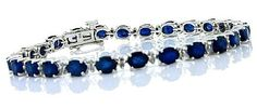 10.50ct Genuine Diffused Sapphire and Diamond Bracelet,in 14Kt White Gold MyTreasurez http://www.amazon.com/dp/B002B94IG0/ref=cm_sw_r_pi_dp_jENsub0QDMWYS