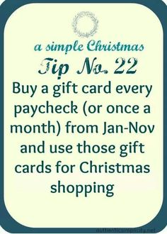 smart idea for saving money on christmas gifts, and not having to spend all your. - Finance tips, saving money, budgeting planner Noel Christmas, Primitive Christmas, Simple Christmas, All Things Christmas, Christmas Gifts, Christmas Budget, Christmas Ideas, Holiday Ideas, Holiday Gifts