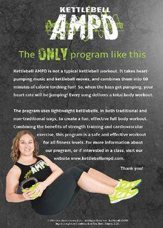 pre-Order the very first Kettlebell AMPD DVD!! http://www.kettlebellampd.com/Store.html #kettlebell #DVD #fitness #exercise #health
