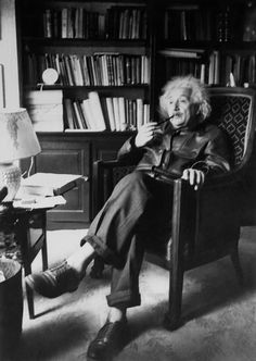 """I very rarely think in words at all. A thought comes, and I may try to express it in words afterwards."" -Albert Einstein"