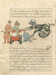 Cinleri ve Tuhaf Yaratıkları Resmeden Muhammed el-Kazvînî'nin 23 İlginç Çizimi