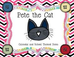 Who doesn't love Pete the Cat