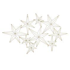GMPB 50X30 GOLD STARS