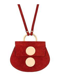 Chloe Canyon Brown Suede Faye Mini Bag