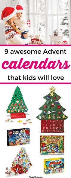 Awesome Advent calendars for young kids: Are you looking for an awesome kids Advent calendar? Here is a list of great ideas that can bring a lot of joy to young kids! Hot Wheels Advent Calendar, Lego City Advent Calendar, Harry Potter Advent Calendar, Wooden Advent Calendar, Advent Calendars For Kids, Christmas Countdown Calendar, Kids Calendar, Calendar Ideas, Christmas Activities