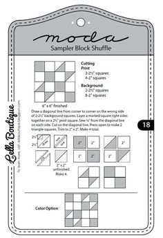 cut and shuffle quilt patterns - Yahoo Image Search Results Quilt Block Patterns, Pattern Blocks, Quilt Blocks, Colchas Quilting, Quilting Rulers, Quilting Tutorials, Quilting Designs, Quilting Ideas, Quilting Projects